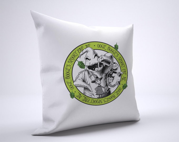 Oogie Boogie Ale Pillow Case Size 20in x 20in