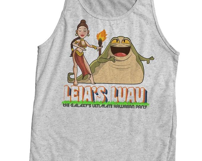Star Wars Princess Leia Tiki Vintage Style Printed Shirt