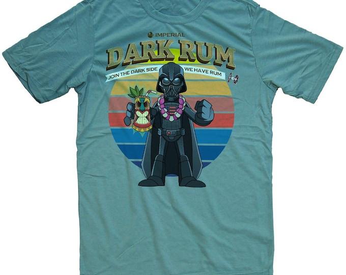 Darth Vader Tiki Shirt -  Funny Star Wars Mens T-shirt
