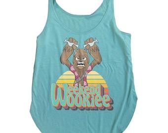 Star Wars Tiki Tank Top. Weekend Wookie
