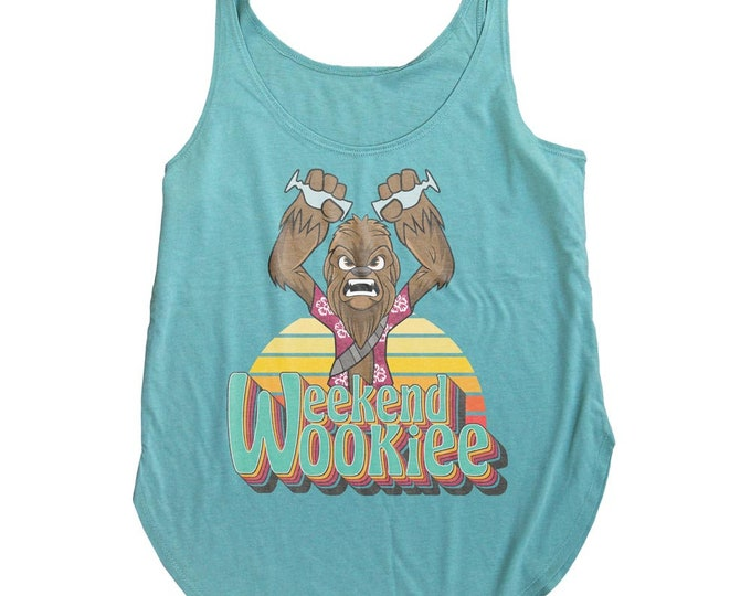 Star Wars Tiki Tank Top. Weekend Wookie