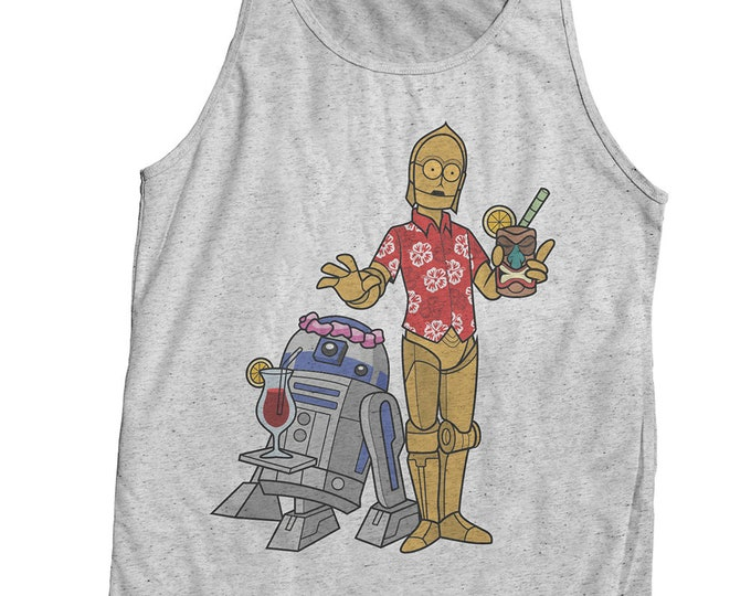 Star Wars Tiki Vintage Style Printed Shirt