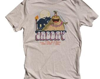Funny Star Wars Shirt. Jabba the Tiki Hut for men. Jabba The Hut Shirt
