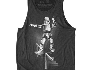 Star Wars Skater Shirt - Mens Funny Star Wars T-shirt