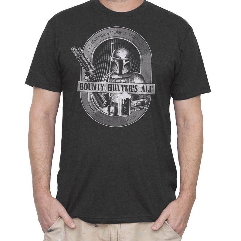 356dd8be8eb38 Star Wars Shirt Mens Boba Fett T-shirt Boba Fett Bounty