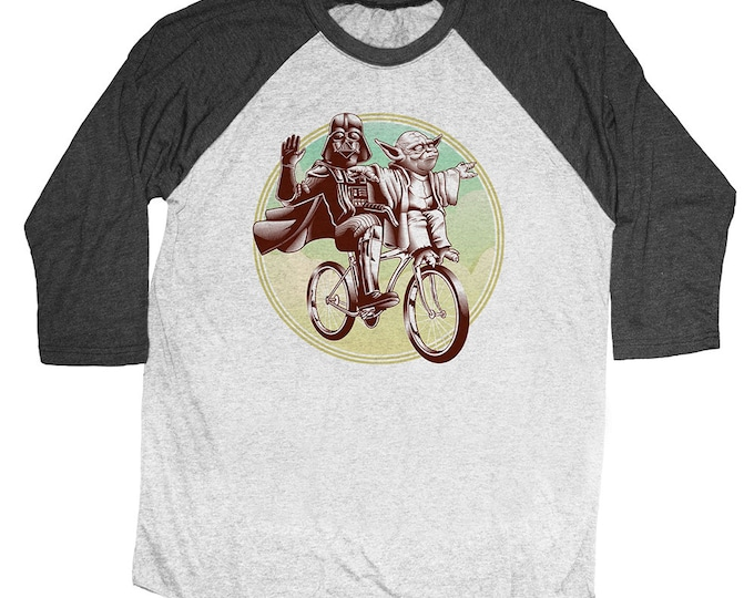 Vintage Star Wars Shirt -  Unisex Baseball Tee