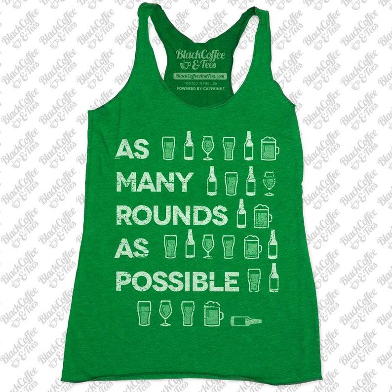 3cd2bd2b82bf1 Gym Shirt Womens St Patrick s Day Shirt. Crossfit Tank