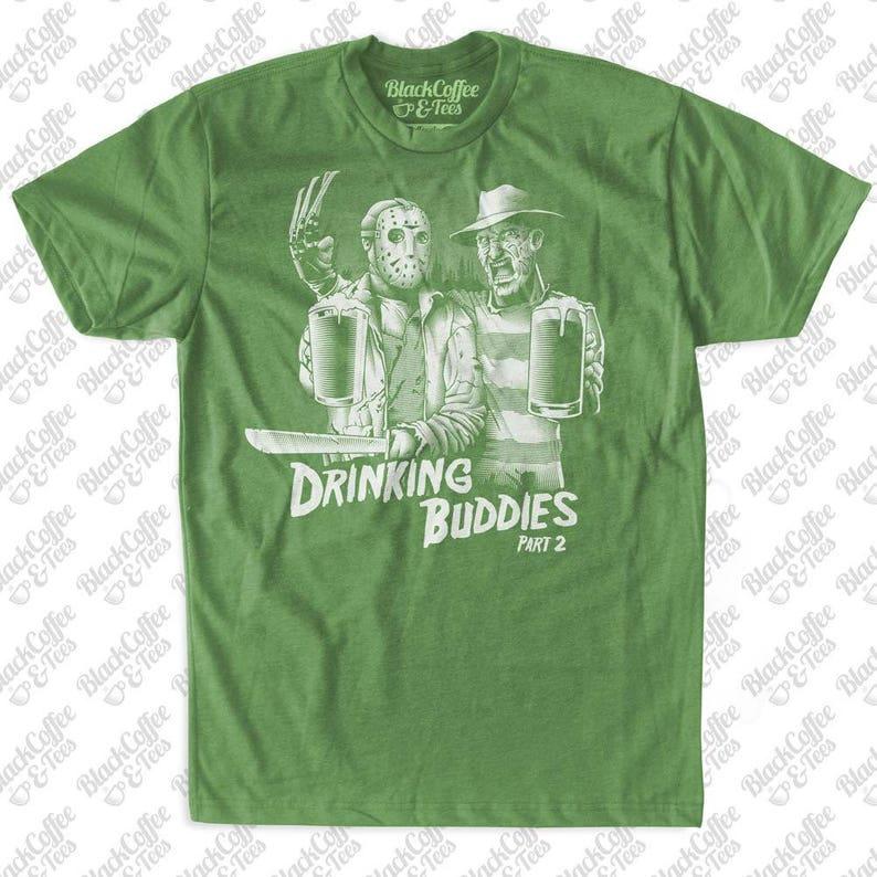 16a6bf3c7 St. Patrick's Day Shirt Mens Freddy Krueger and Jason | Etsy