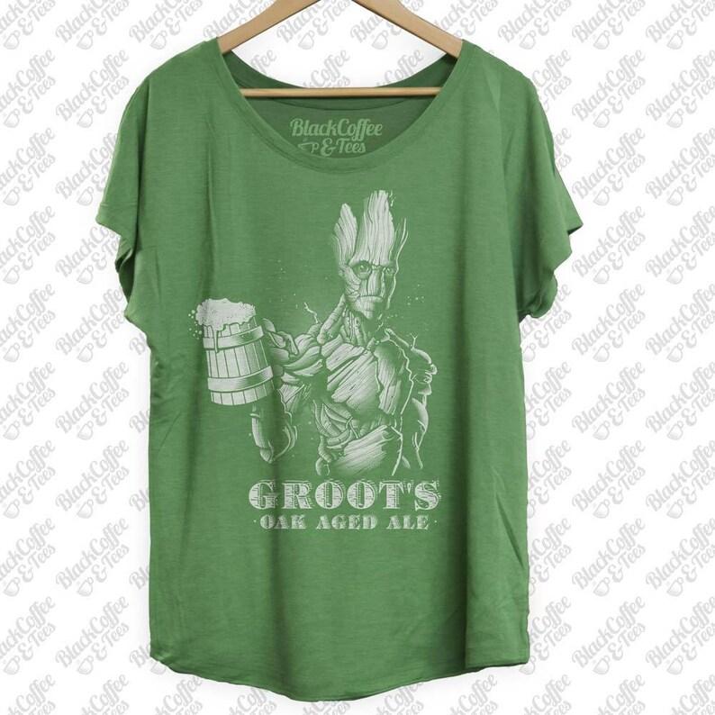 c2b15d06b St Patricks Day Shirt Groot Shirt Guardians of The Galaxy   Etsy