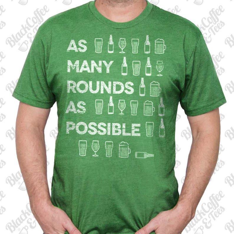ecfc788af Gym Shirt Mens St Patrick's Day Shirt. Crossfit Shirt | Etsy