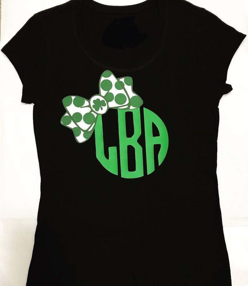 734e5a373 St Patricks Day Shirt/Monogram Shirt/Monogram St Patricks | Etsy