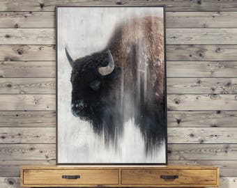 Buffalo POSTER - print image without frame