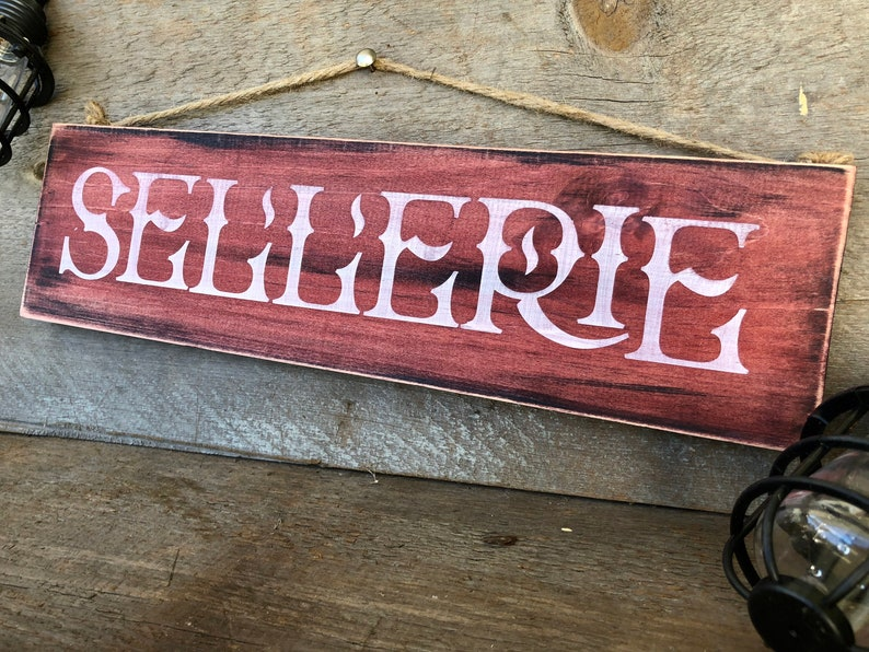UPHOLSTERY Wood sign
