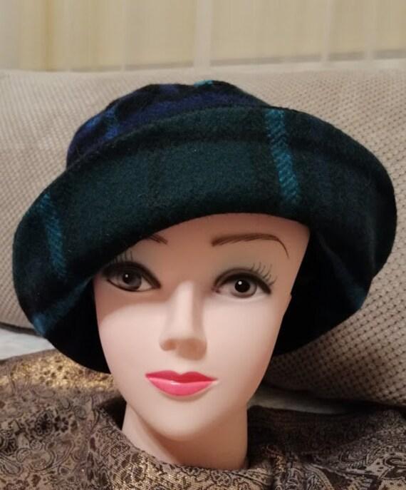 Tweed hat all weather hat women rain hat light  911615b2a82
