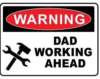 Warning novelty fun sign