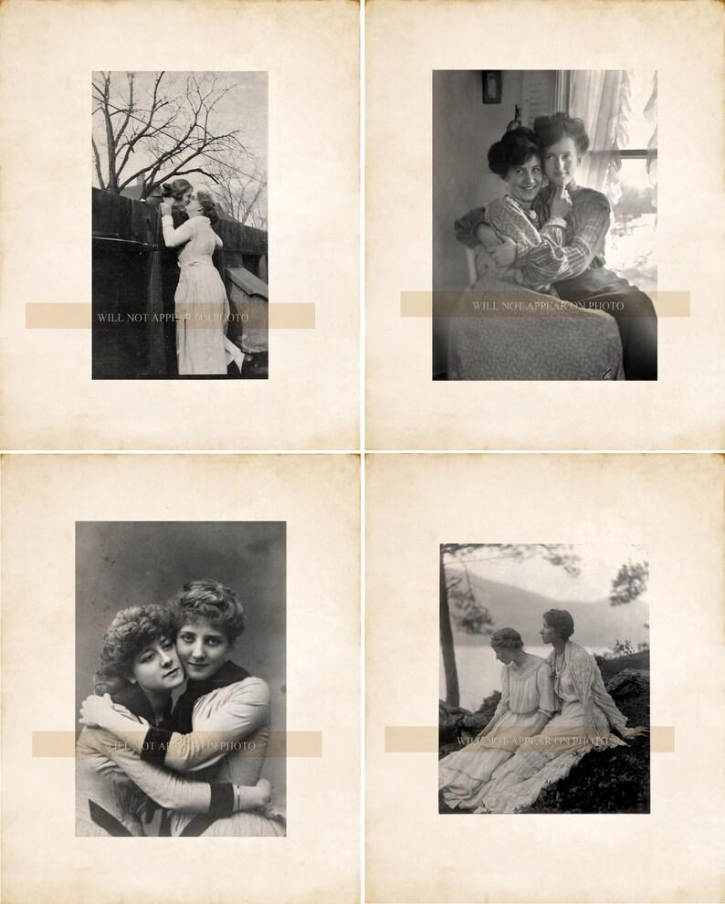 musta Vintage lesbo