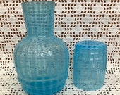 Glass Tumble Up vintage opalescent glass