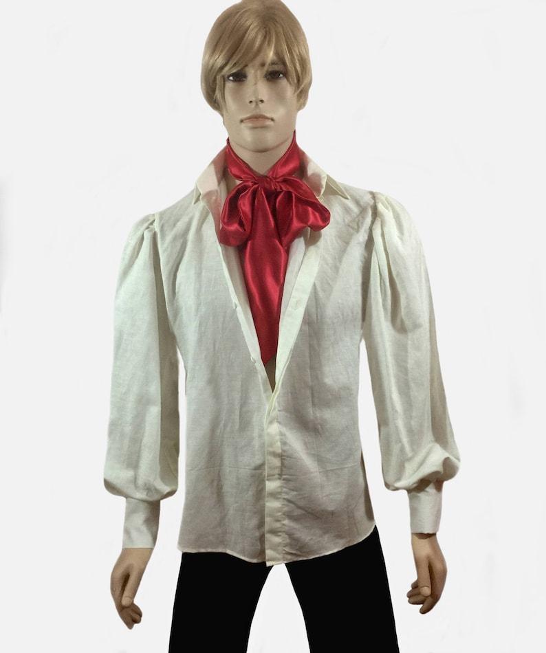 Papyrus White Men/'s Frontier Style Linen Shirt