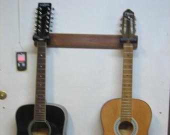 2 Guitar Wall Hangar