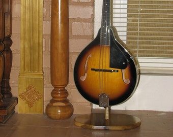 Custom wood Mandolin or Ukulele Stand # 604
