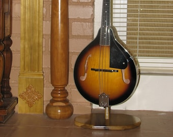 Custom Wood Mandolin Or Ukulele Stand 601 Etsy