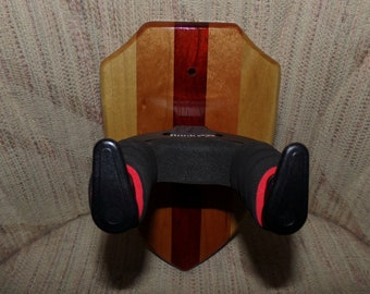 Custom Wood Locking Wall Hangers for Guitars #1507