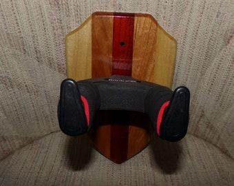 Custom Wood Locking Wall Hangers for Guitars #1508