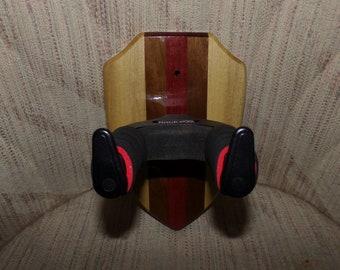 Custom Wood Locking Wall Hangers for Guitars #1506