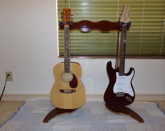 Double Guitar Stand 3072