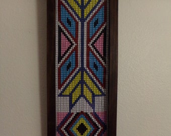 Small Beaded Wall Art