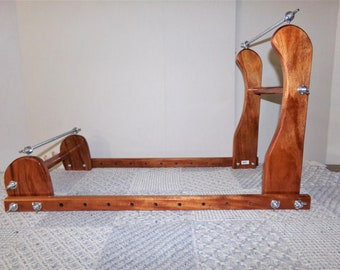 Expandable Upright Wood Bead loom #896