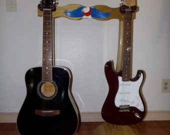 Double Guitar Stand 2525