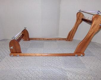 Expandable Upright Slanted Wood Bead loom #977