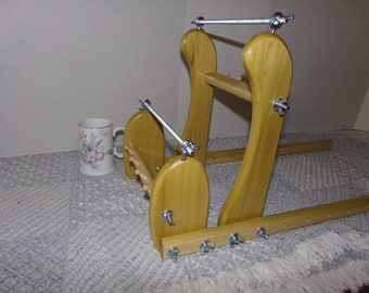 Expandable Upright Wood Bead loom #928