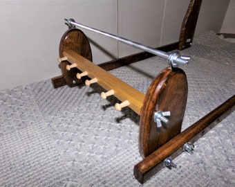 Expandable Upright Wood Bead loom #910