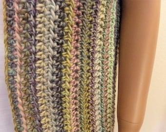 Crochet Chalk Pastel Varigated Duster