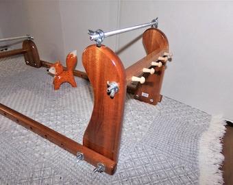 Expandable Upright Wood Bead loom #974