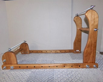 Expandable Upright Wood Bead loom #897
