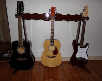 Triple Guitar Stand 2081