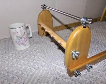 Expandable Upright Wood Bead loom #923