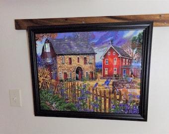 Farm House and Barn Diamond Painting