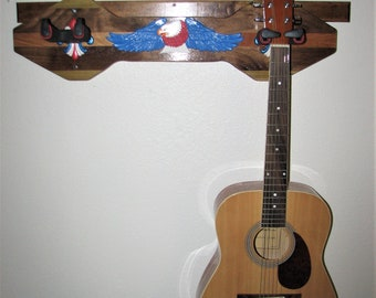 2 Guitar Wall Hanger #1814
