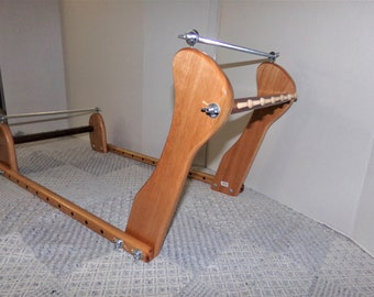 Expandable Upright Slanted Wood Bead loom #979