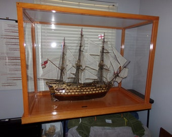 Handcrafted HMS Victory