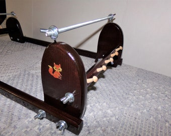 Expandable Wood Bead loom #3024