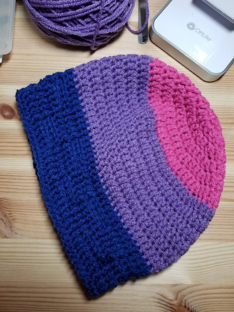 Ready to Ship Crochet Pride Beanie