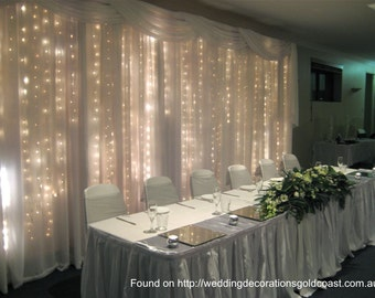 3M*3M 300 LED Warm White Curtain Light ,Fairy String Light | Wedding,  Business, Home, Garden, Party Garland Decor, Christmas