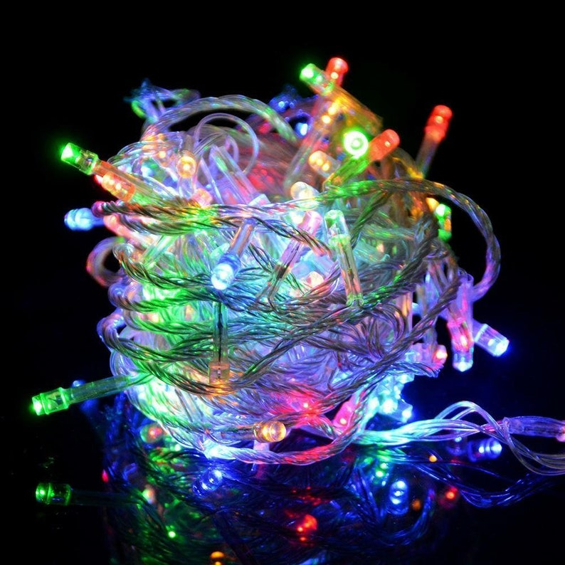200 LED Multicolor Waterproof linkable Fairy String Light  image 0