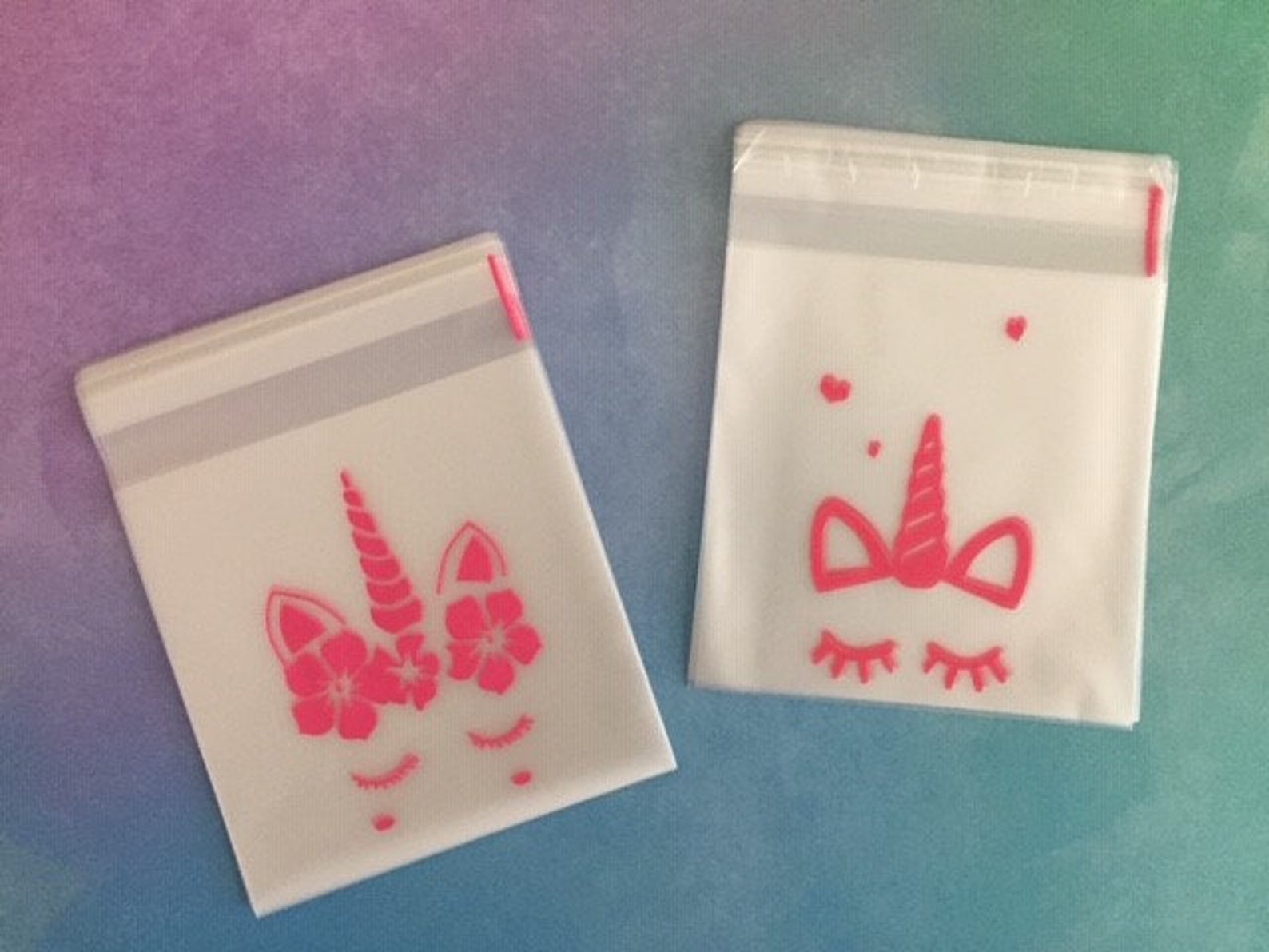 Unicorn Party Favor Bags Page Two