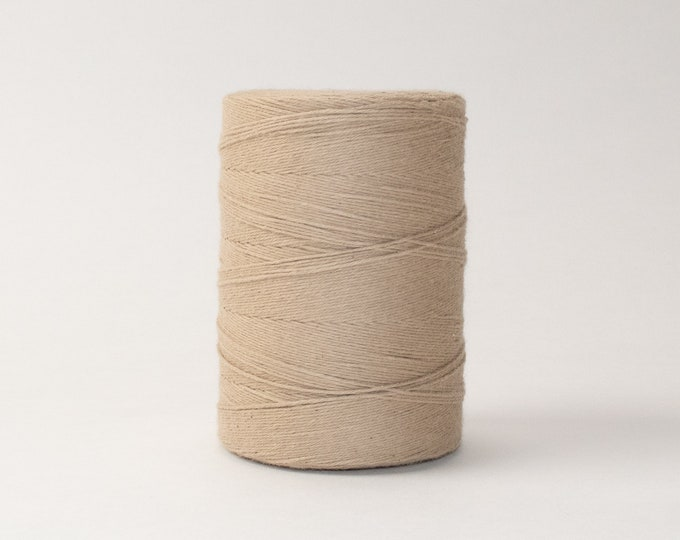 Latte Cotton Warp Thread for Weaving